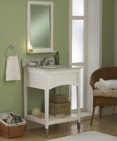 Seaside Beadboard Bathroom Vanity From Sagehill Designs