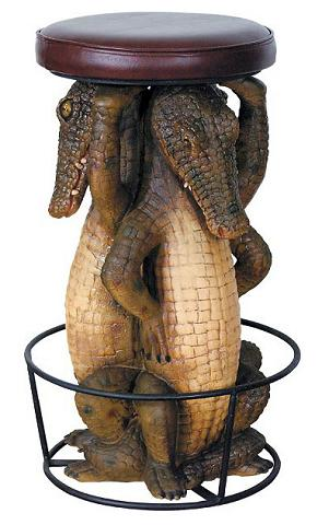 Gator Barstool From AFD