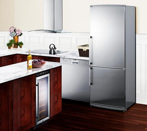 Having Updated, Matching Appliances (Like These Ones From Summit) Can Go A Long Way Towards Updating The Whole Kitchen