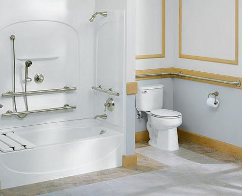 Placing Grab Bars Throughout The Bathroom Can Help Ensure Your Continued Independence And Help Prevent Falls