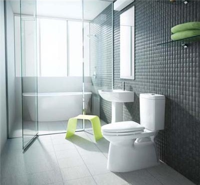 Rio Grande Dual Flush Toilet From INAX