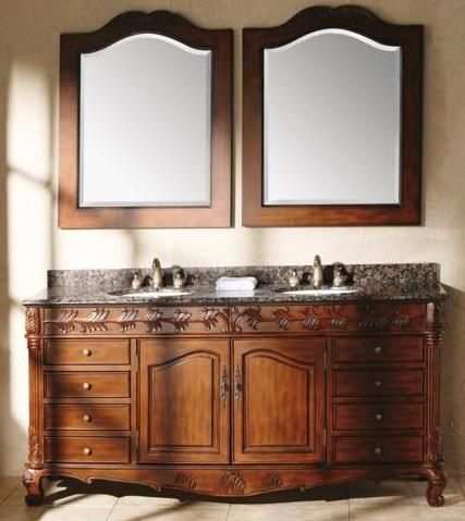 Tanya 72'' Classic Bathroom Double Vanity From James Martin Furniture