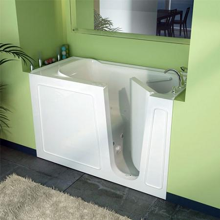 Walk In Seated Whirlpool Bathtub From MediTub