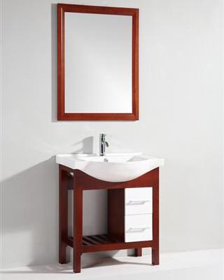 "29.5"" Vanity With Mirror From Legion Furniture"