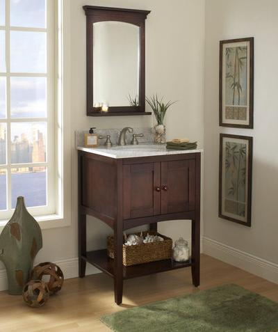 "Allure 24"" Bathroom Vanity From Sagehill Designs"