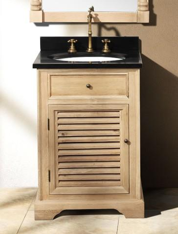 Savannah Vanity From James Martin With Shuttered Cabinet Doors
