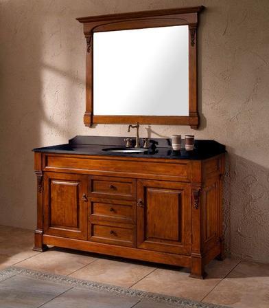 "Bosco 60"" Oak Bathroom Vanity From James Martin"
