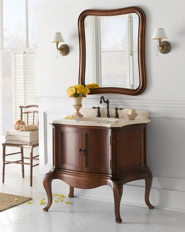 """Chardonnay 36"""" Wood Vanity Cabinet From RonBow"""