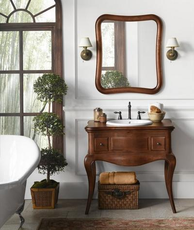 """Corsica 36"""" Wood Vanity Cabinet From RonBow"""