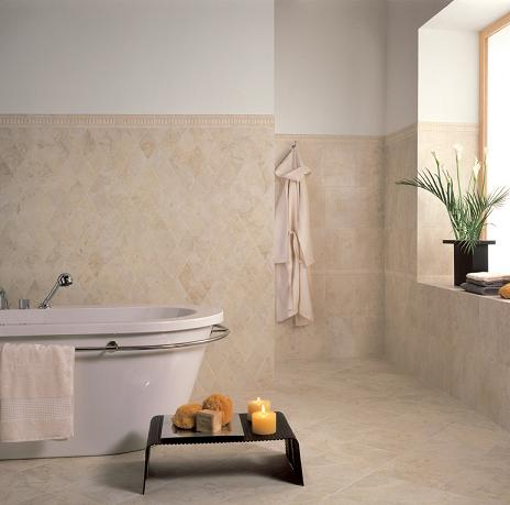 Even A Simple Ceramic Tile Can Go A Long Way Toward Improving The Look And Value Of Your Bathroom