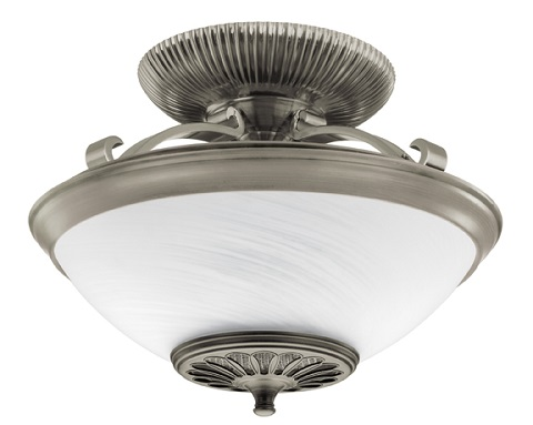 Illumi-heat Semi-Flush Mount Ceiling Fixturer 21817 From Hunter