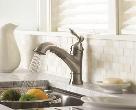 Kitchen Faucets With A Satin Finish, Like This Fairmont Faucet From Danze, Have A More Classic Look, And Are Easier To Keep Clean