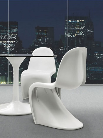 Panton Style S Chair From Zuo Modern