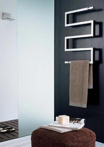Snake 50 CR Hydronic Towel Warmer From Scirocco