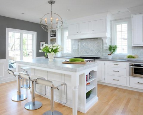 Transitional Kitchens Combine Modern Simplicity And Convenience With Just A Touch Of Traditional Sophistication (by Normandy Remodeling)