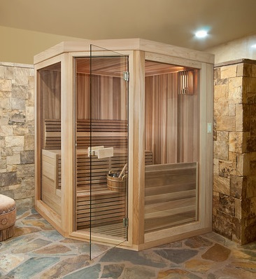 Home Saunas Can Be Custom Designed And Built, But Basic Sauna Kits Are Very DIY Friendly, Can Be Installed Almost Anywhere, And Often Custom Cut To Fit The Space (by Paoli Design Center)