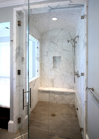 Installing A Steam Shower Requires Careful Pre-Planning, A Few Extra Steps, And Often Special Parts And Professional Installation, But The Final Result Can Add Significantly To The Value Of Your Home (by Markay Johnson Construction)