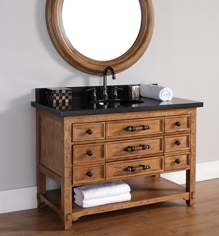 "Malibu 48"" Single Bathroom Vanity From James Martin Furniture"