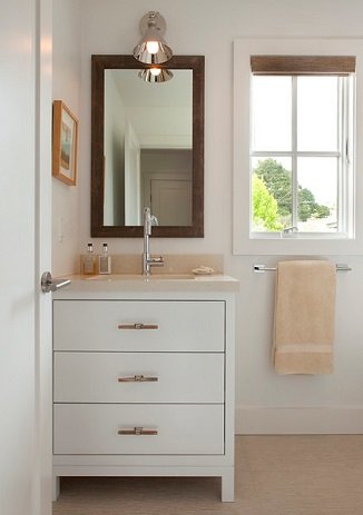 A new set of towels can make your bathroom feel fresh, clean, and color coordinated (by Tineke Triggs, Artistic Designs for Living)