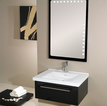 "Fly FL4 27.7"" Bathroom Vanity With Integrated Sink From Iotti"