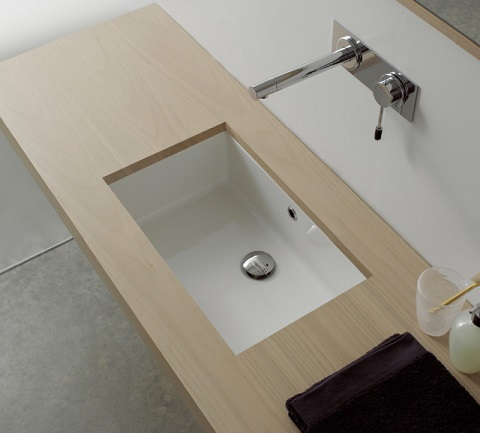 Miky Bathroom Sink Scarabeo 8091