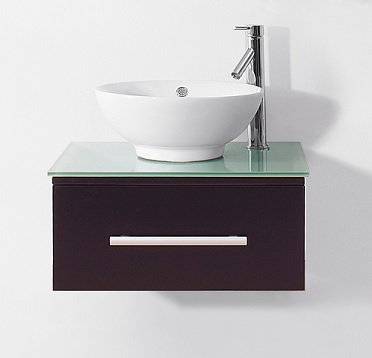 "Primo 24"" Bathroom Vanity With Vessel Sink"