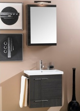 "Simple NS4 22.5"" Bathroom Vanity With Towel Bar From Iotti"