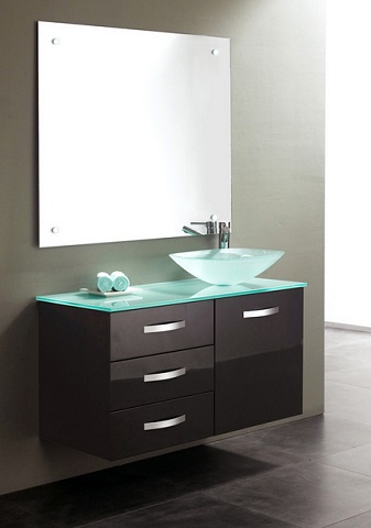 Wall Mounted Bathroom Vanities And Why They Sometimes Have Legs