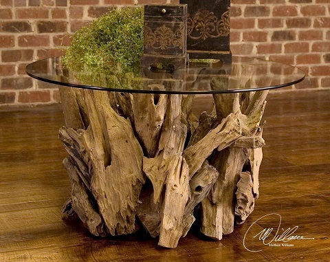 Driftwood Cocktail Table 25519 From Uttermost
