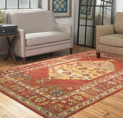 Estelle 5x8 Wool Rug From Uttermost