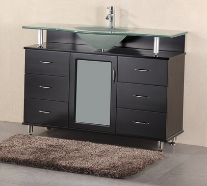 "Huntington 48"" Single Bathroom Vanity From Design Element"