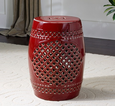 Peizhi Ceramic Garden Stool From Uttermost