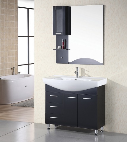 "Sierra 40"" Single Bathroom Vanity From Design Element"