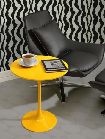Wilco Yellow Side Table From Zuo Modern