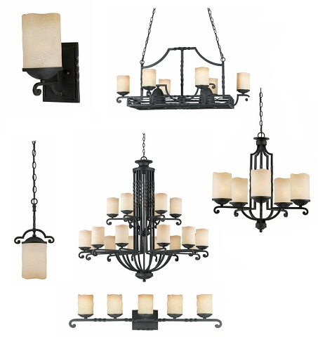 Granda Lighting Collection From Triarch Lighting