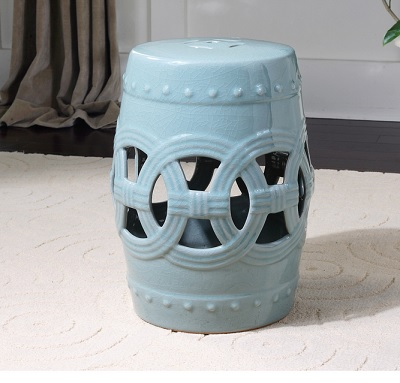 chinese garden stool. Uttermost Old Sage Ceramic Garden Stool 24601 Chinese