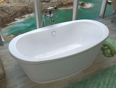 Ardea 36x66 Freestanding Bathtub VZ3666A from Venzi