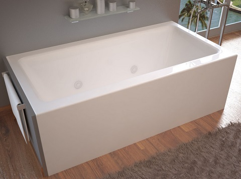 Madre 32x60 Front Skirted Whirlpool Tub VZ3260SHWR from Venzi