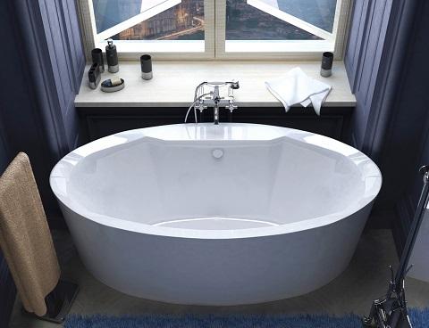 Sole 34x68 Oval Freestanding Bathtub VZ3468SS from Venzi