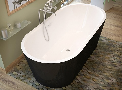Tre 63x32 Freestanding Soaking Tub VZ3263VY from Venzi