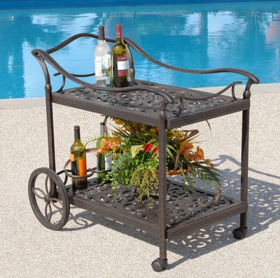 Fiesta Tea Cart From AFD