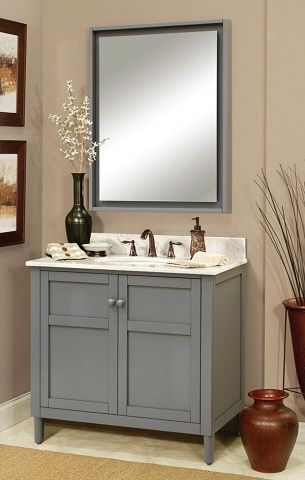 "Harper 36"" Bathroom Vanity From Sagehill Designs"