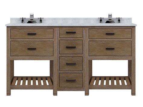 Modular Textured Wood Bathroom Vanity Sets From Sagehill Designs