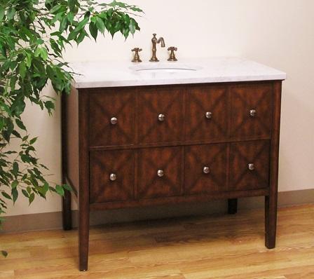 "BC003 41"" Bathroom Vanity From Legion Furniture"