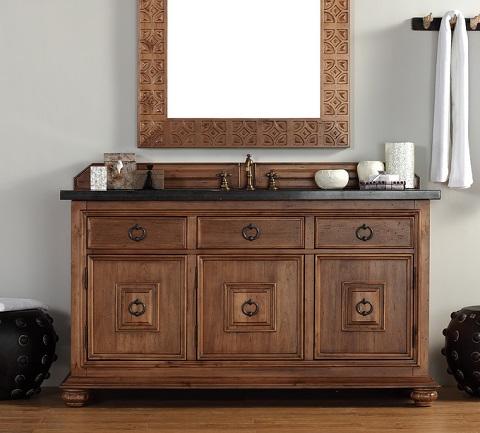"Mykonos 60"" Single Bathroom Vanity From James Martin Furniture 550-V60S-CIN"