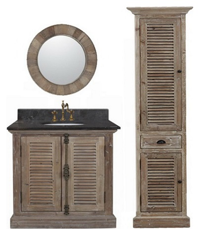 Recycled Fir 36 Bathroom Vanity From Infurniture 1936