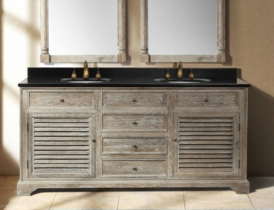 Savannah 72 Double Bathroom Vanity In Driftwood From James Martin Furniture 238 104