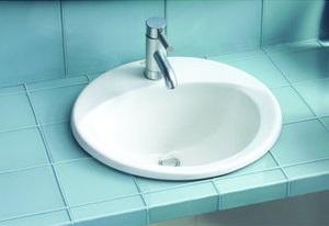 Ultimate Drop In Bathroom Sink LT512.4 From Toto