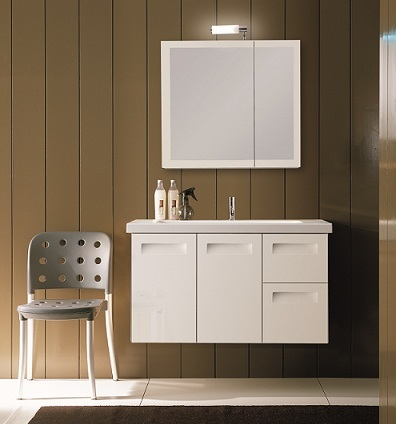 "Integral 38.3"" Bathroom Vanity NG3 From Iotti"