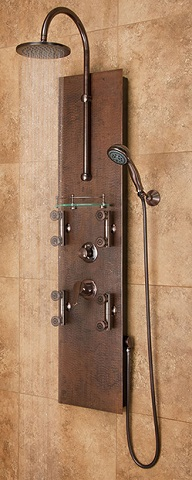 Mojave Copper Shower Panel 1016 From PULSE